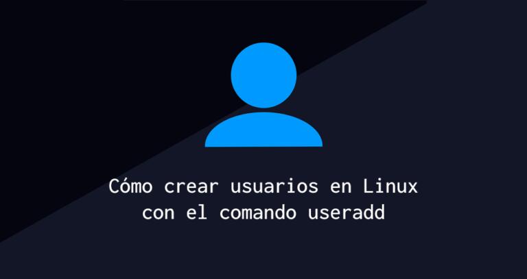Cómo crear usuarios en linux