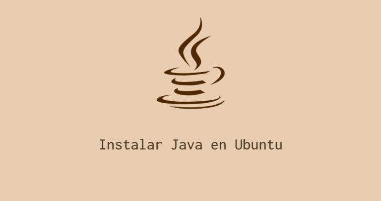 Cómo instalar java en Ubuntu Linux