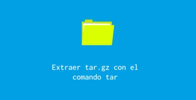 comando tar linux