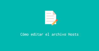 Editar archivo Hosts