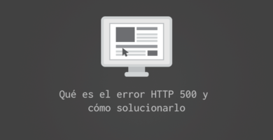 Error HTTP 500 internal server error