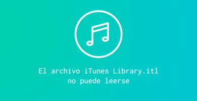 library.itl no puede leerse