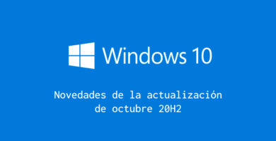 novedades windows10 20h2