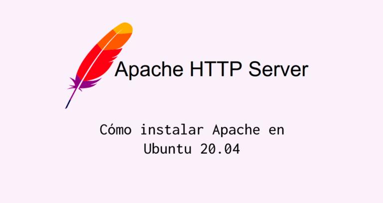 Instalar apache en Ubuntu