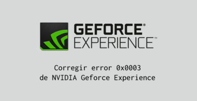 nvidia geforce experience error 0x0003