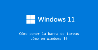 personalizar barra de tareas windows 11